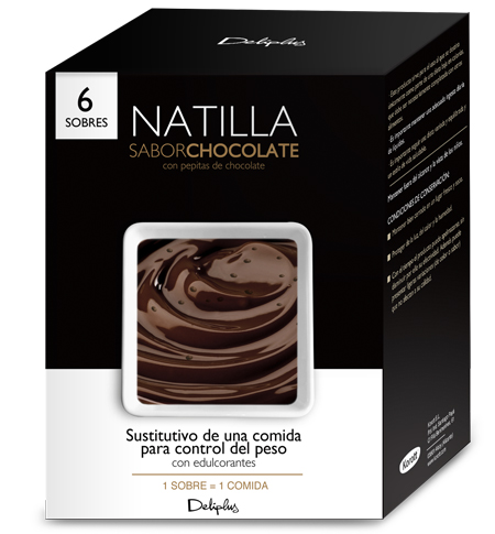 Natilla Sabor Chocolate con Pepitas de Chocolate